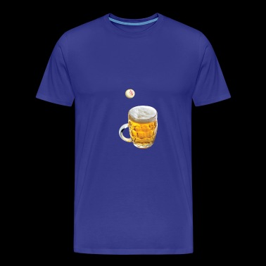 Pong beer - Men's Premium T-Shirt