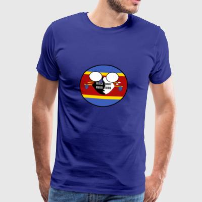 ball Pays Swaziland accueil - T-shirt Premium Homme