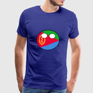 Countryball Country Home Eritrea - Men's Premium T-Shirt