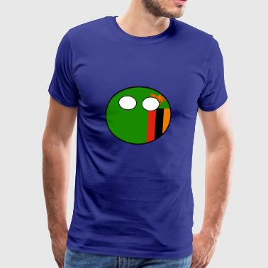 Countryball Country Home Zambia - Men's Premium T-Shirt