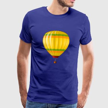 moderne Balloon - Premium T-skjorte for menn