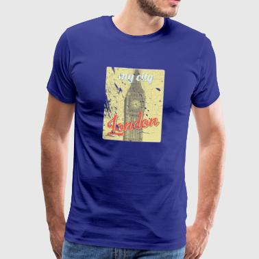 MY CITY Londres - T-shirt Premium Homme