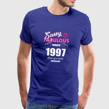 Sassy Fabulous Since 1997 - Men's Premium T-Shirt