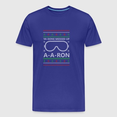 AA Ron jul - Premium-T-shirt herr