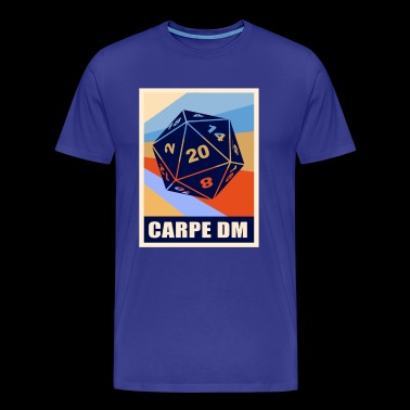 CARPE DM - Funny Dungeon Master - T-shirt Premium Homme