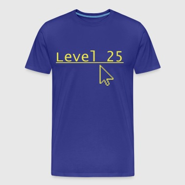 Level 25 - Mannen Premium T-shirt