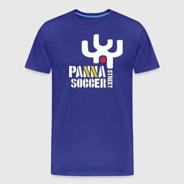Panna Street Soccer (Tribal) - Men's Premium T-Shirt