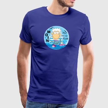 Nordfriesland Schaaf an'ne Coast - Men's Premium T-Shirt