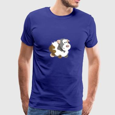 Cute guinea pig - sea pig - guinea pig - Men's Premium T-Shirt
