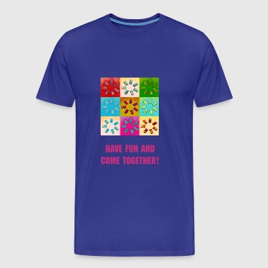 Colored Gummibärchen - Männer Premium T-Shirt