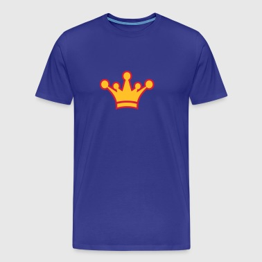crown_symbol_2c - Premium T-skjorte for menn