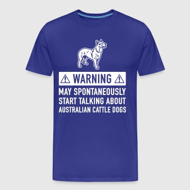 Funny Australian Dog Gift Idea - Men's Premium T-Shirt
