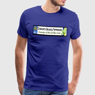 TIPPERARY, IRELAND: licence plate tag style decal - Men's Premium T-Shirt