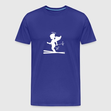 Heavenly skiers  - Men's Premium T-Shirt