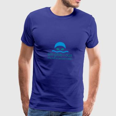 6061912 119685483 swimming - Men's Premium T-Shirt