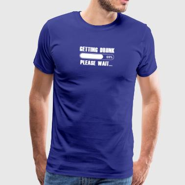 The motive for parties and celebrations - Men's Premium T-Shirt