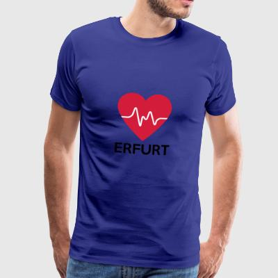 heart Erfurt - Men's Premium T-Shirt