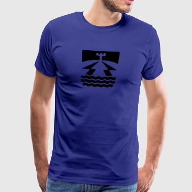 Maritime surveillance Man - Men's Premium T-Shirt