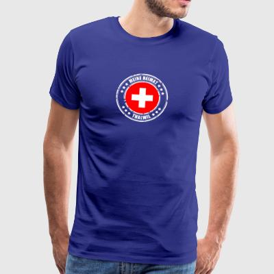 MY HOME Thalwil - Herre premium T-shirt