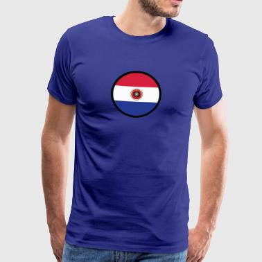 Marked By Paraguay - Men's Premium T-Shirt