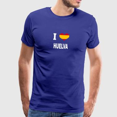I Love Spain HUELVA - Men's Premium T-Shirt