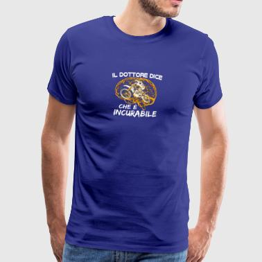 Motocross It's incurable - Men's Premium T-Shirt