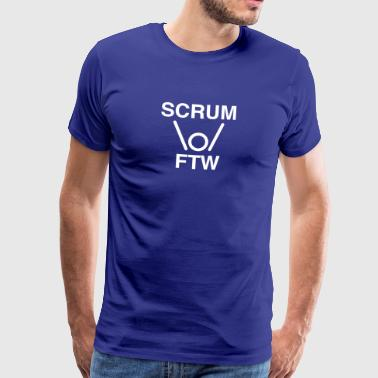 SCRUM FTW - scrum for the win - Men's Premium T-Shirt