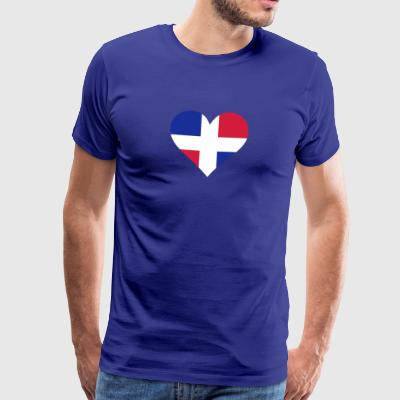 A Heart For The Dominican Republic - Men's Premium T-Shirt