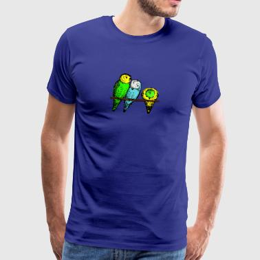 budgies - Men's Premium T-Shirt
