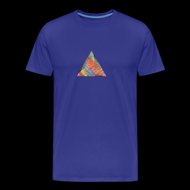 Triangle of twisted color - Men's Premium T-Shirt