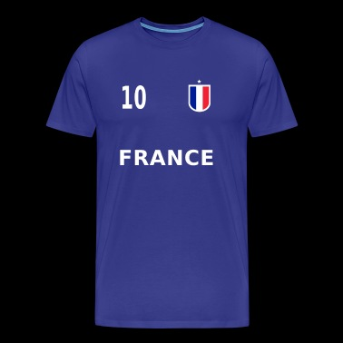 Maillot de football France numéro 10 - T-shirt Premium Homme