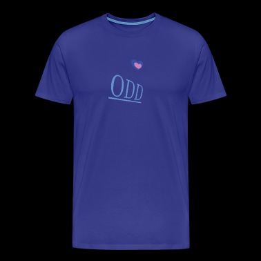 ODD: Heart. - Men's Premium T-Shirt