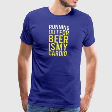 bier workout - Mannen Premium T-shirt