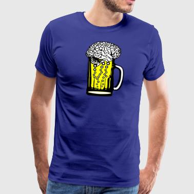 Beer Brain - Men's Premium T-Shirt