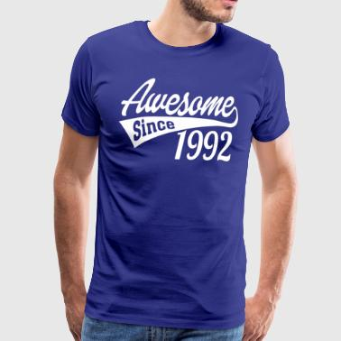 Awesome Since 1992 - Men's Premium T-Shirt
