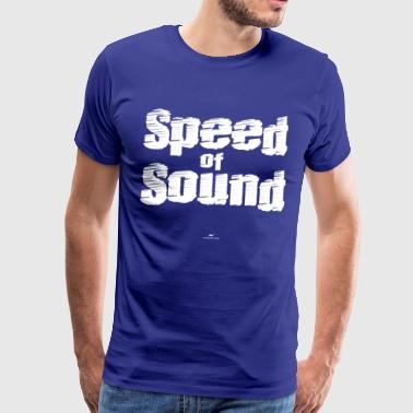 Speed ​​of Sound - Men's Premium T-Shirt