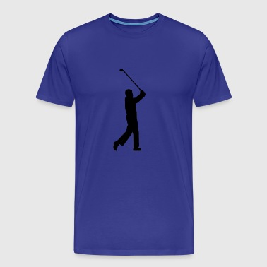Golf, sports, individuellement - T-shirt Premium Homme