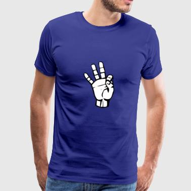 show of hands - Men's Premium T-Shirt