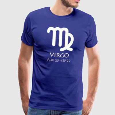 Virgo Zodiac Sign - Männer Premium T-Shirt