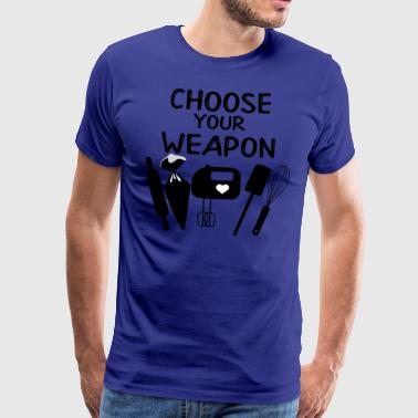 Kies je Weapon - Mannen Premium T-shirt
