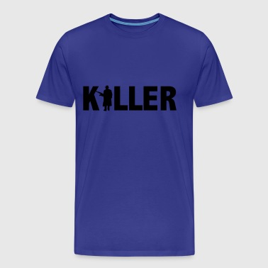 killer - Premium-T-shirt herr