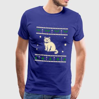 British Shorthair Christmas Gift - Men's Premium T-Shirt