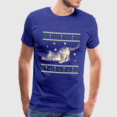 Tabby Christmas Gift - Men's Premium T-Shirt