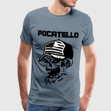Pocatello - Männer Premium T-Shirt