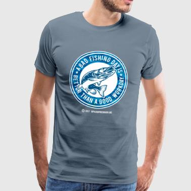 A bad fishing day - T-shirt Premium Homme