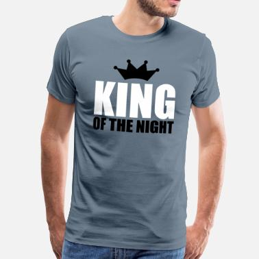 Techno Holiday KING OF THE NIGHT - Camiseta premium hombre