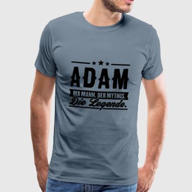 Man Myth Legend Adam - T-shirt Premium Homme