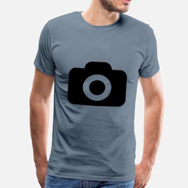 Camera Icon camera - Men's Premium T-Shirt