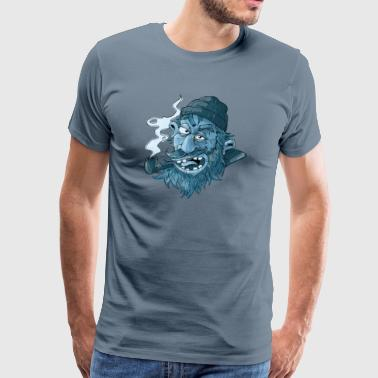Salty Sailor - Premium-T-shirt herr