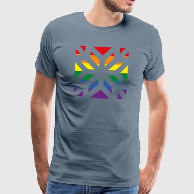 Integration Star Rainbow - Men's Premium T-Shirt